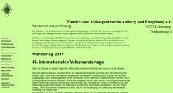 Preview of amberg-wandern.de